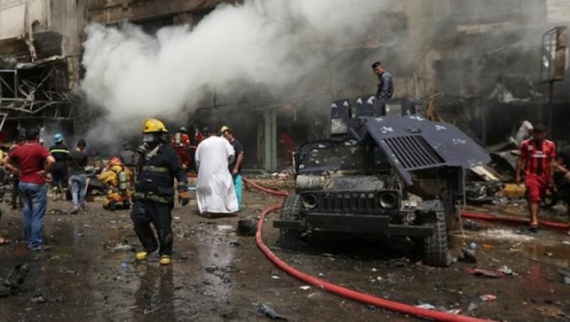 Dublu atentat la Bagdad: 21 de morţi, 43 de răniţi