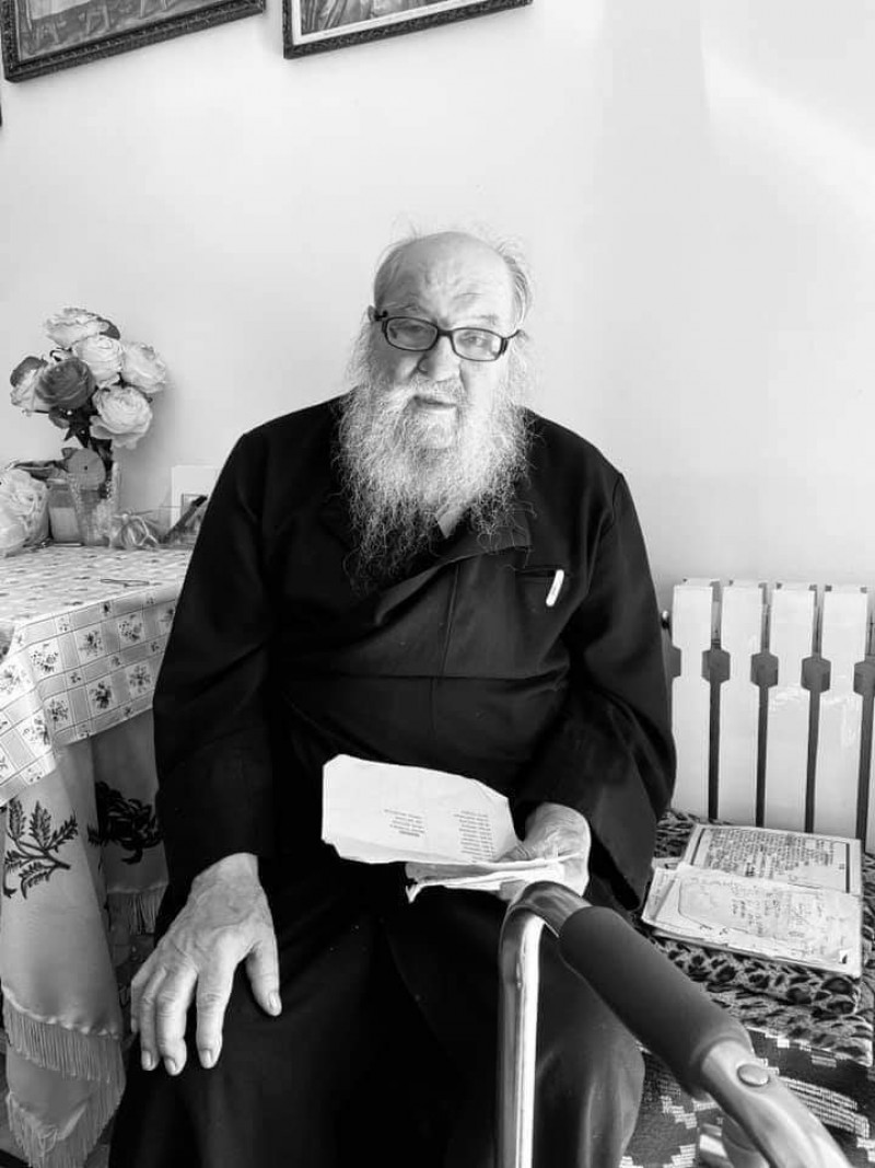 Duhovnicul Mănăstirii Vorona s-a stins din viață