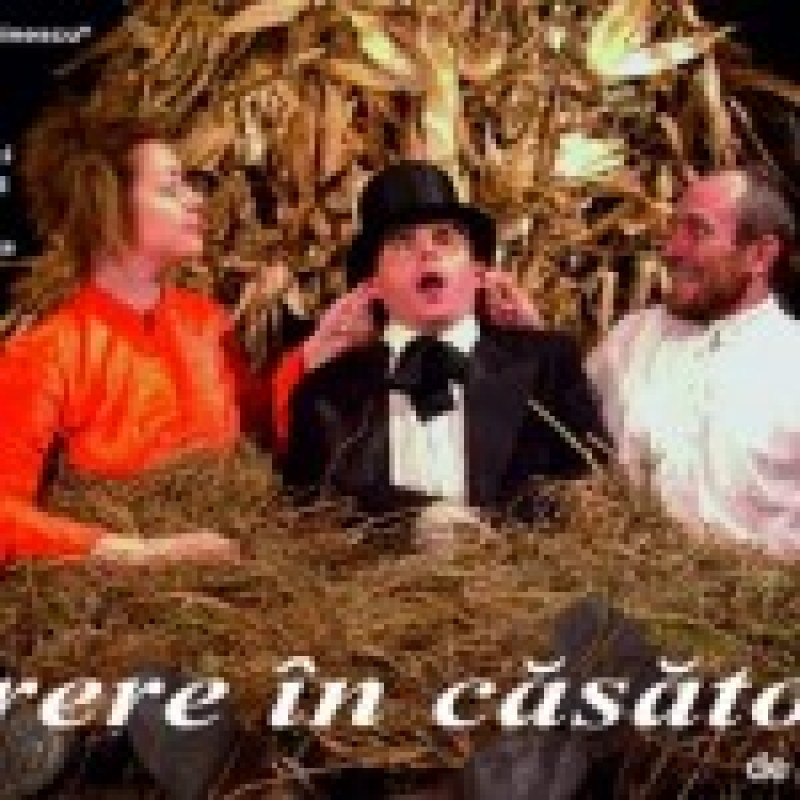 "Duminica, la Teatrul Eminescu, ""Cerere in casatorie"""