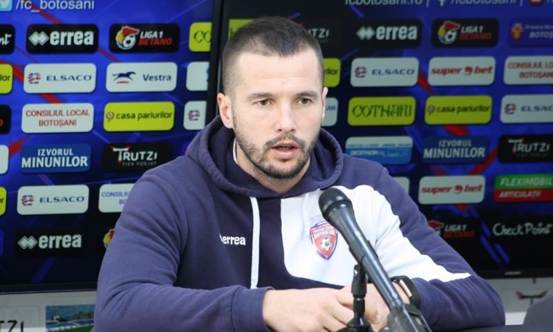 """Dumitraș: """"Cine este alături de echipă și ne susține, sunt sigur că o face și în momentele mai puțin bune"""""""