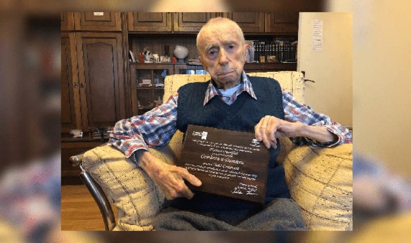 Dumitru Comănescu, cel mai bătrân om de pe planetă, a murit