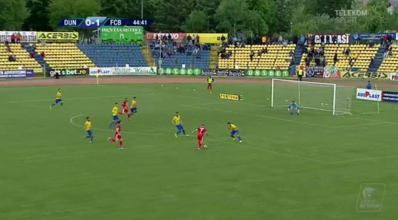 Dunărea Călăraşi - FC Botoşani 0-2. Botoșănenii obţin primul succes în deplasare din play-out!