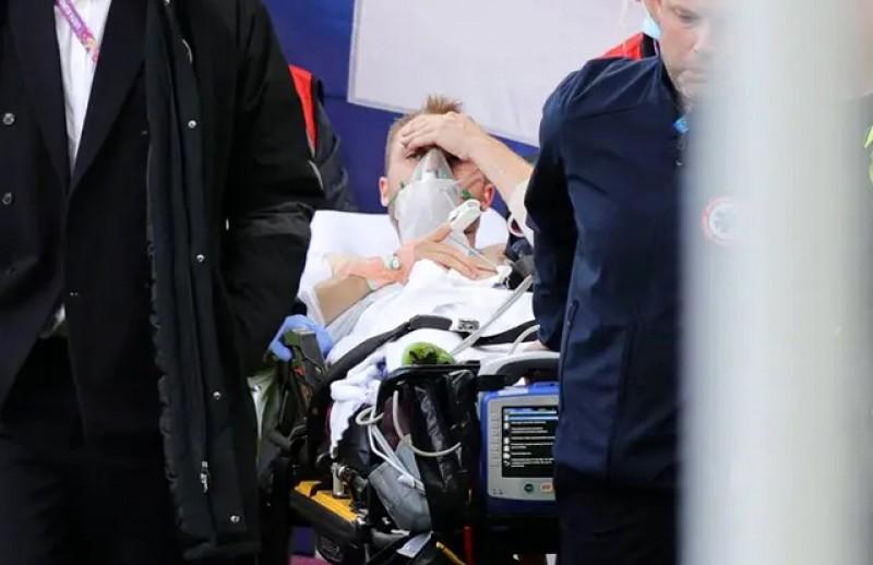 "După 18 minute, Christian Eriksen a fost ""stabilizat"""