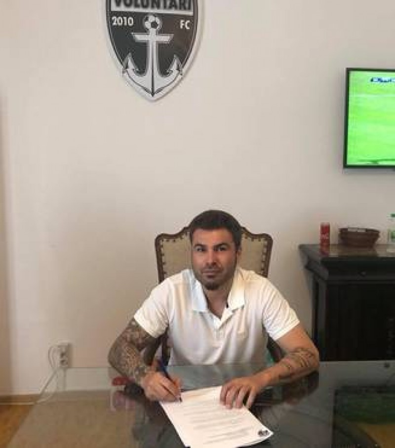 E OFICIAL: Adrian Mutu, noul antrenor al echipei FC Voluntari!