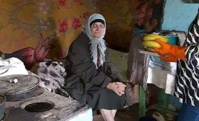 E Sâmbăta Mare. O bătrână de 70 de ani din satul Ilișeni, comuna Santa Mare, are nevoie de ajutor
