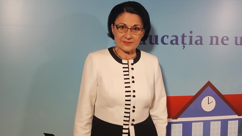 Ecaterina Andronescu, despre cifrele de școlarizare pentru anul viitor: S-au făcut reglaje între şcoala profesională şi învăţământul liceal