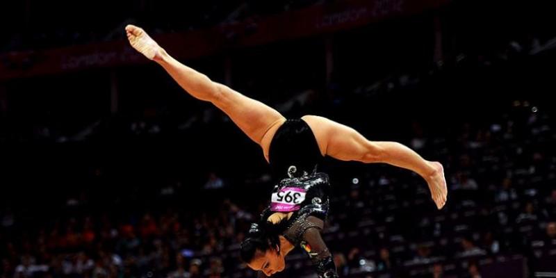 Echipa feminină de gimnastică a României, momentan în grafic pentru calificarea la Rio