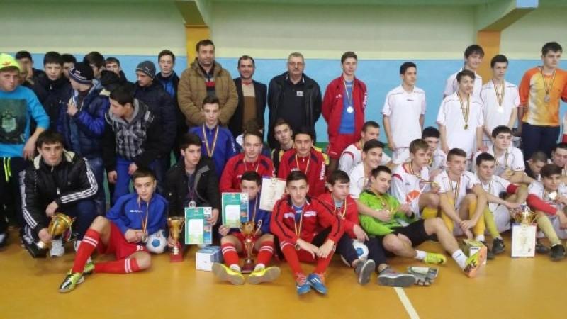 Echipa lui Paul Cucu, CSS Botosani, locul II la un turneu din Republica Moldova!
