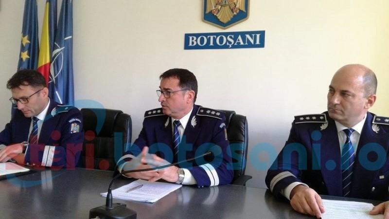 Echipe de intervenție constituite la nivelul IPJ Botoșani pentru a acționa în întreg județul