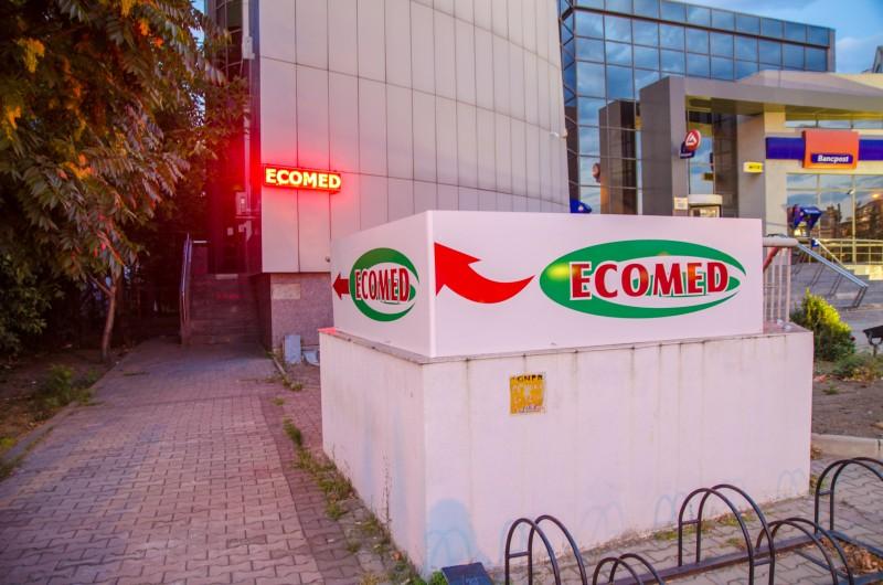 Ecomed anunță deschiderea spațiului de lângă Mall