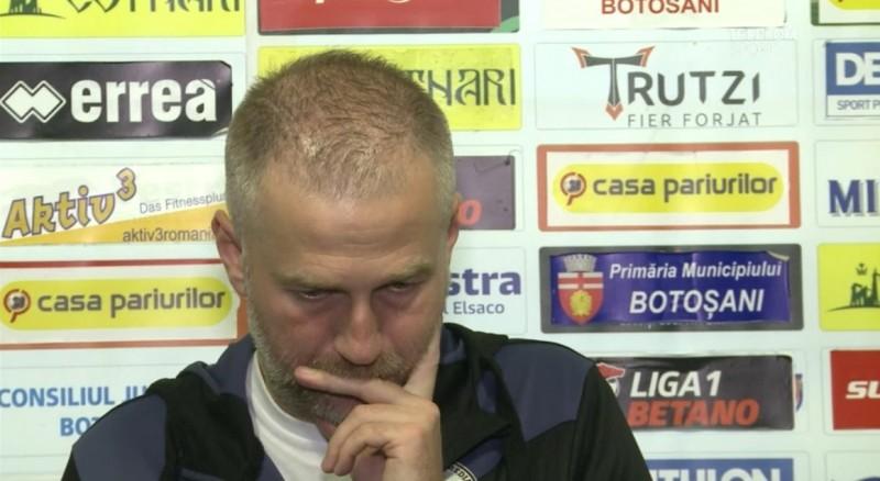 """Edi Iordănescu a răbufnit după meciul cu FC Botoșani: """"Sunt frustrat, nu doar supărat. Un penalty de cascadorii râsului!"""""""