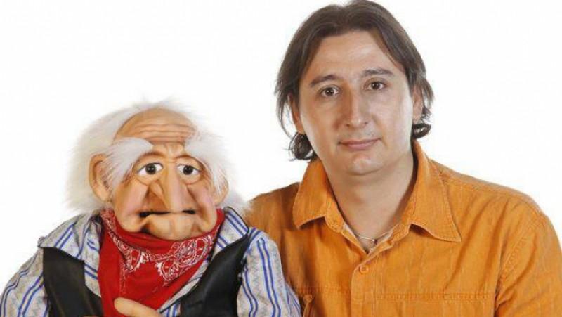 Eduard Sandu îşi doreşte un serial TV cu oameni şi păpuşi