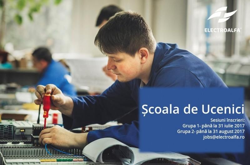 Electroalfa lansează Școala de Ucenici, program de calificare într-o meserie tehnică