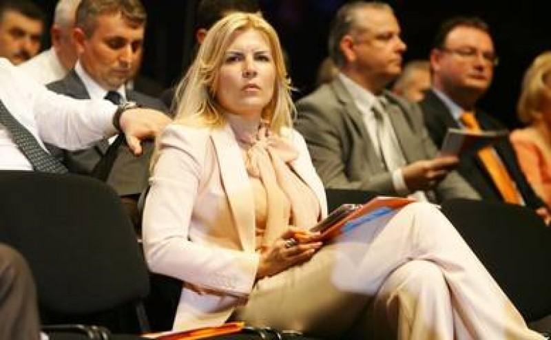 Elena Udrea demisioneaza din fruntea PDL Bucuresti