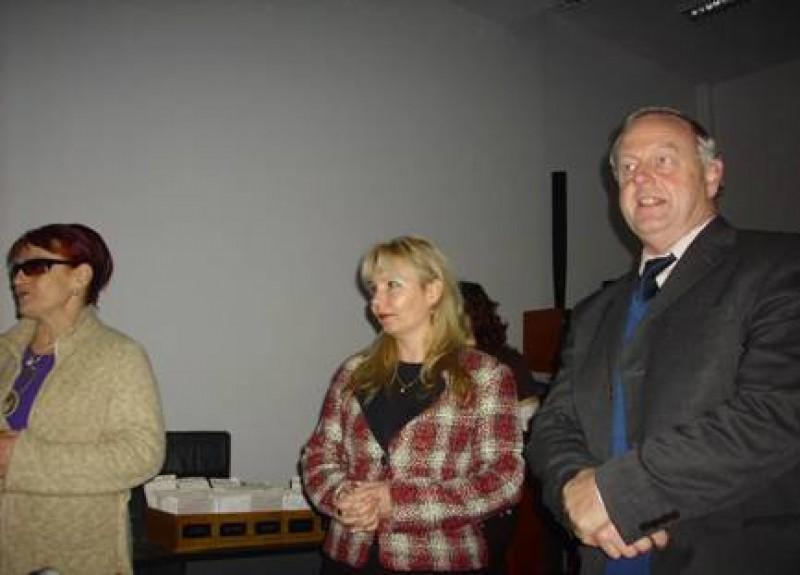 Elevii botosaneni s-au intalnit cu Mur John Potter, consilier personal al baronesei Nicholson