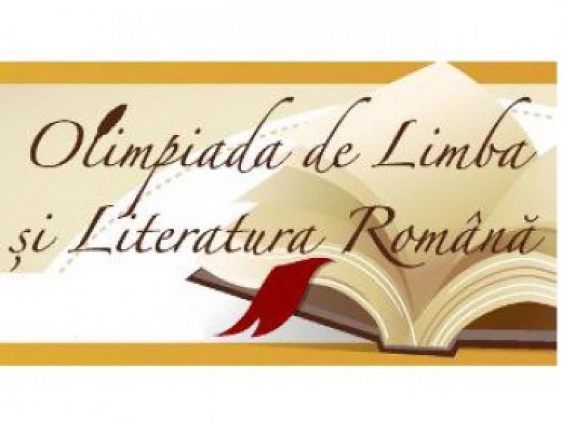 Elevii calificați la faza națională a Olimpiadei de Limba și literatura română