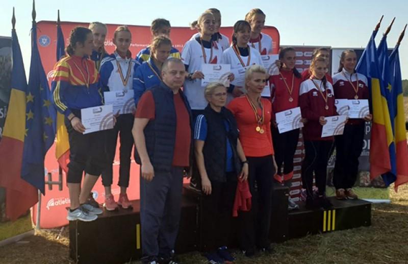 Elevii Liceului cu Program Sportiv Botoșani, Medalie de argint la Campionatul Național de Cros!