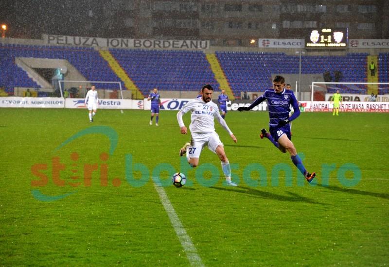 Elevii lui Bejan şi Bordeanu au fost învinşi! Scor final FC Botoşani- ACS Poli Timişoara 1-2! FOTO