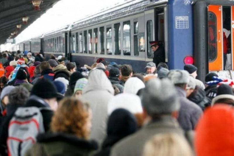 Elevii si studentii cu drept de vot vor beneficia de transport gratuit cu trenul in perioada 8-12 decembrie