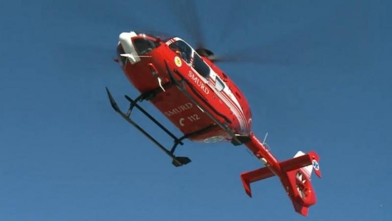 Elicopter chemat de urgență la Botoșani pentru un pacient de 71 de ani