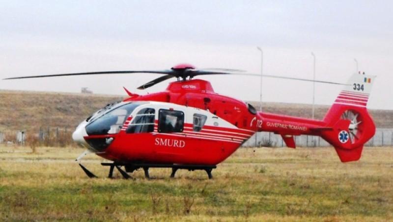 Elicopterele SMURD vor zbura şi noaptea, după ce piloţii în rezervă au fost rechemați în sistem
