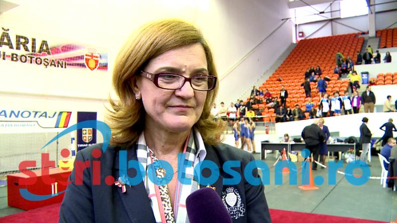 """Elisabeta Lipa regreta ca judetul Botosani nu are o baza sportiva de canotaj: """"Mi-ar fi placut"""""""