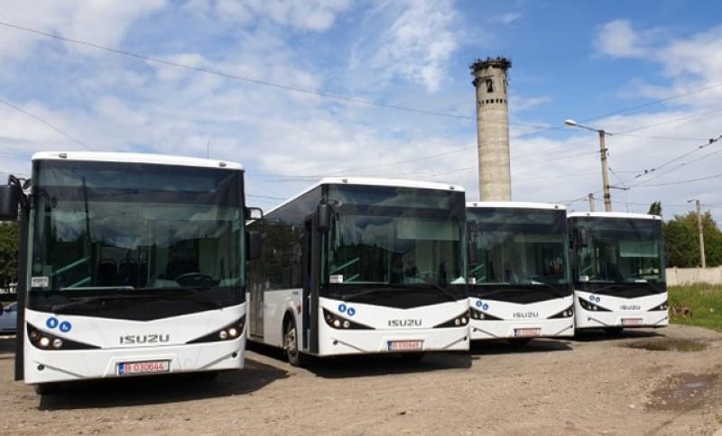 Eltrans SA își completează flota auto cu încă două autobuze