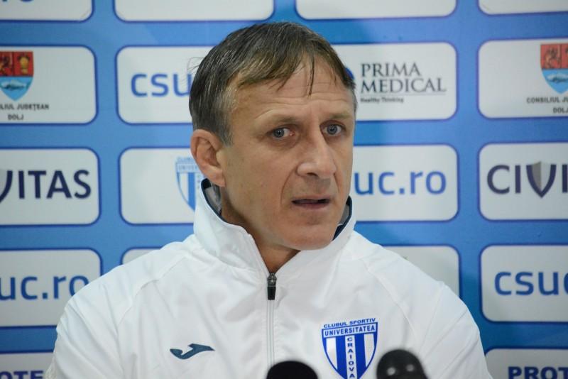 """Emil Sandoi, antrenor CSU Craiova: """"FC Botosani este o echipa foarte buna si ne asteapta un joc dificil"""""""