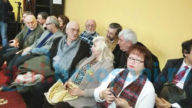 Zilele Eminescu au adunat zeci de oameni de cultură. Ședință festivă de Consiliu Local pentru acordarea titlului de cetățean de onoare laureatului marelui premiu - FOTO