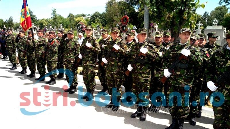 Ceremonie organizată la Botoșani cu prilejul Zilei Eroilor