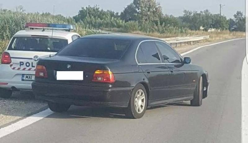 Escrocul din Dorohoi care s-a dat drept șeful DIICOT Suceava, avea și BMW cu girofar