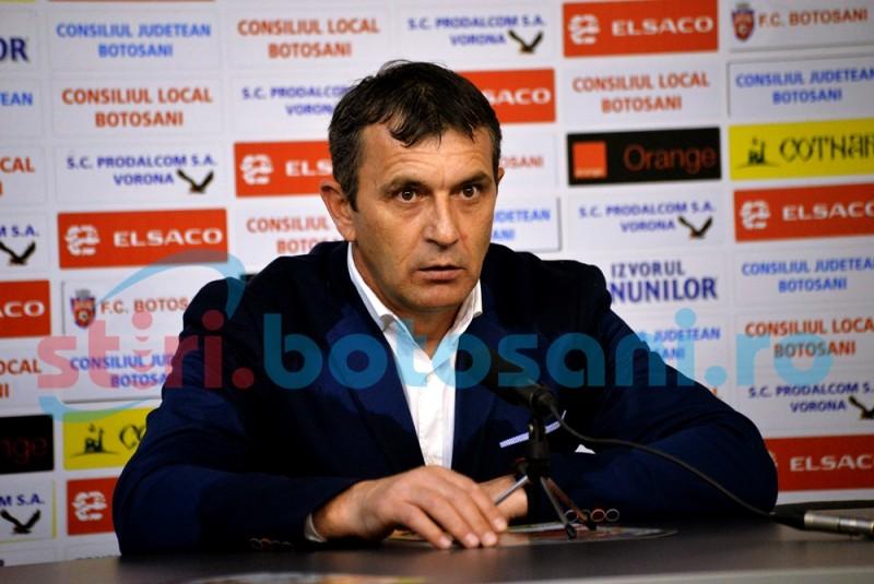 """Eugen Neagoe: """"Cred că puteam să jucăm și două zile iar Botoșaniul nu marca gol"""""""