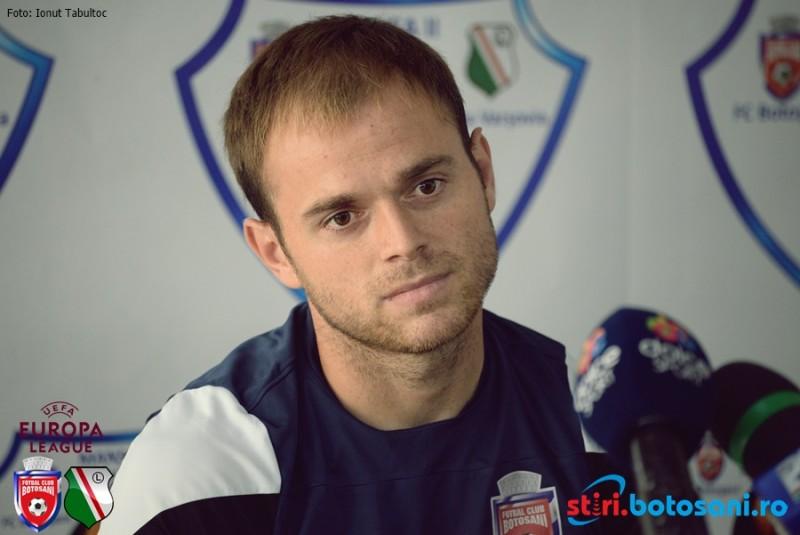 """EUROPA LEAGUE! Andrei Patache: """" Tot lotul crede în calificare! E şansa noastră şi trebuie să credem în ea"""""""