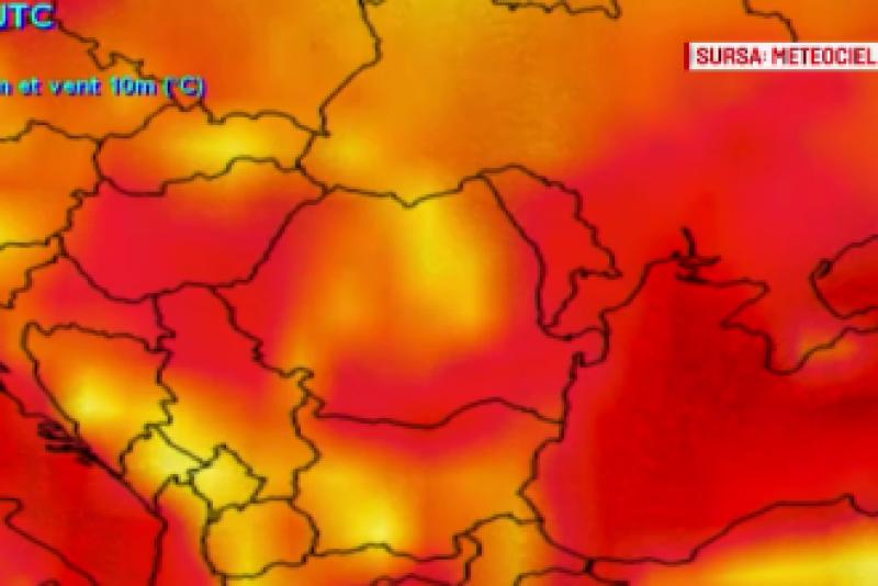 """Europa, lovită de """"iadul roșu"""". Corpul uman va resimţi temperaturi de 47-48 de grade"""