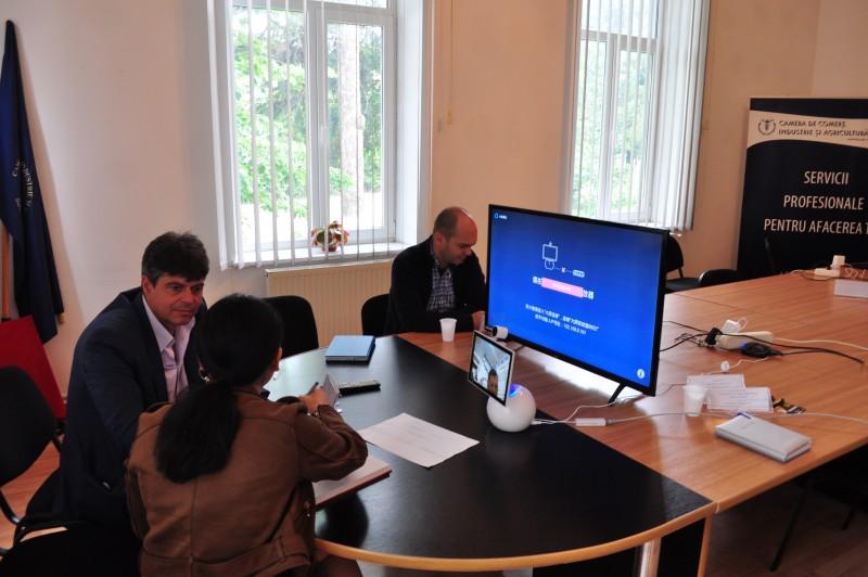 Eveniment inedit pentru oamenii de afaceri din Botoșani și Suceava: Expoziţia virtuală China Brand Fair - FOTO