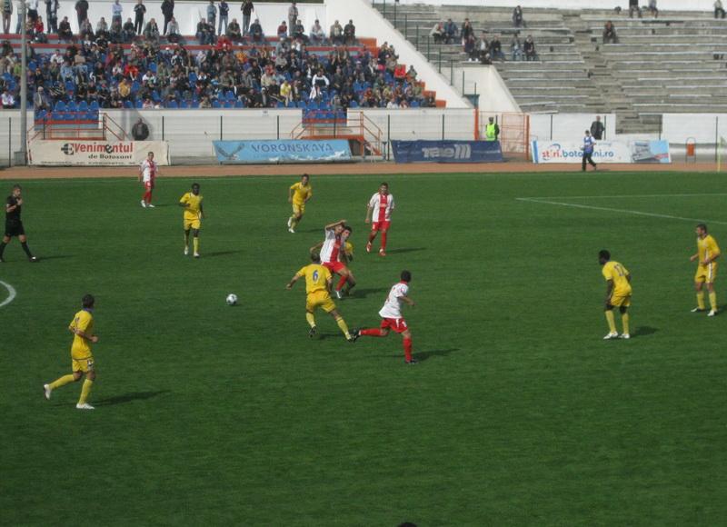 Evoluţii oscilante pentru FC Botosani