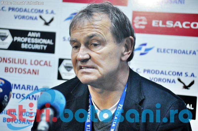 """Ewald Lienen, antrenor Otelul: """"Poate daca marcam mai repede aveam o sansa sa revenim"""""""