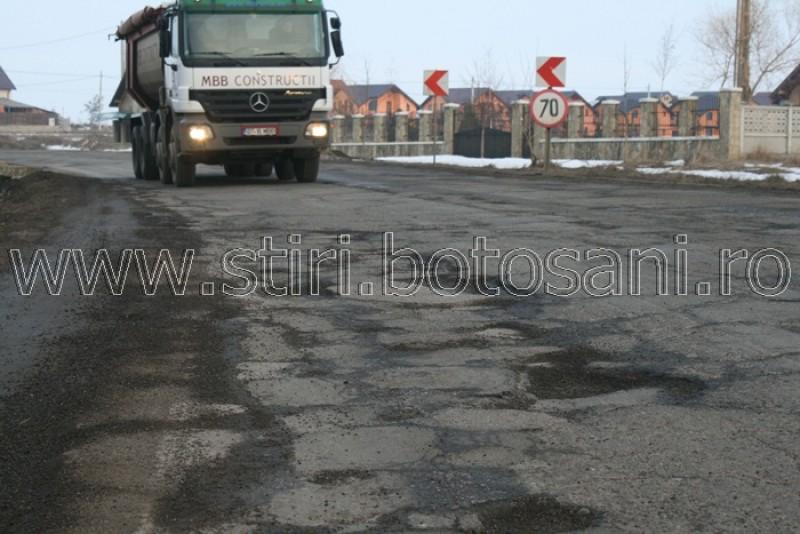 EXCLUSIV: Drumul Botoșani-Suceava, la un pas de reabilitare. VEZI cine este dispus sa lucreze pe datorie!