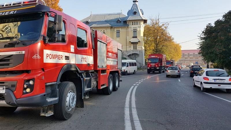"""UPDATE Exerciţiu naţional """"Seism 2018"""", intervin pompieri botoşăneni- FOTO"""