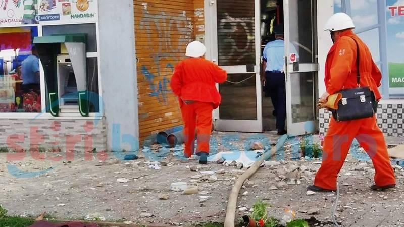 Explozia de pe Primăverii face obiectul unei anchete a Poliţiei şi Parchetului
