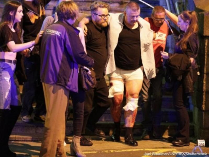 Explozie pe Manchester Arena, la finalul unui concert: 19 morti si 50 de raniti, Politia vorbeste despre un atac terorist
