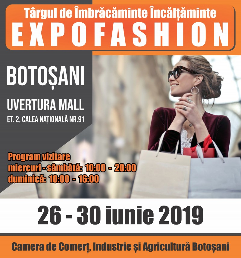 EXPOFASHION 2019, Botoșani