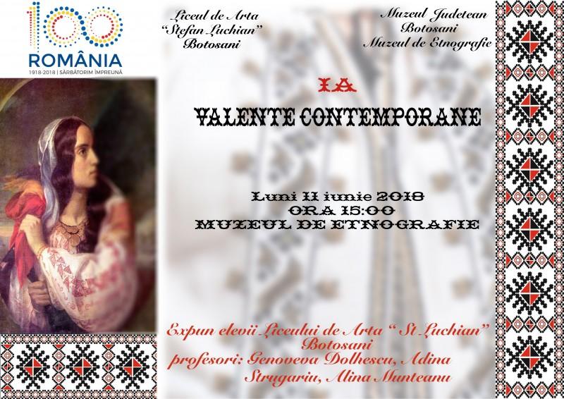 """Expoziția de pictură """"Ia – valențe contemporane"""", la Muzeul de Etnografie!"""