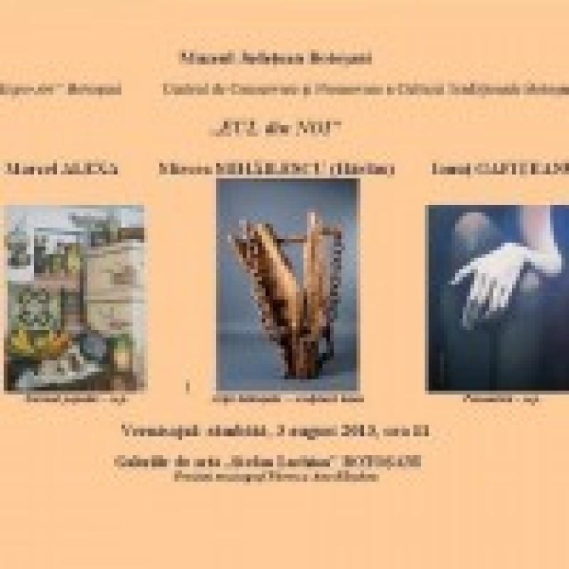 """Expozitia """"EUL din NOI"""", la Galeriile de Arta """"Stefan Luchian"""""""