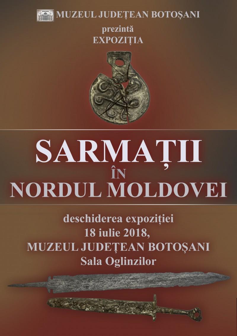"""Expoziția """"Sarmații în nordul Moldovei"""", la Muzeul Județean Botoșani!"""