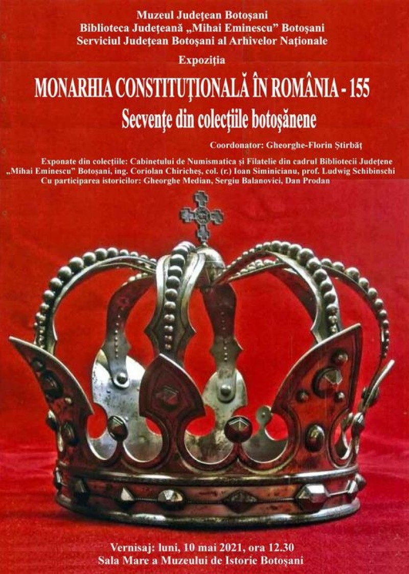 Expoziție de numismatică și filatelie găzduită de Muzeul de Istorie Botoșani