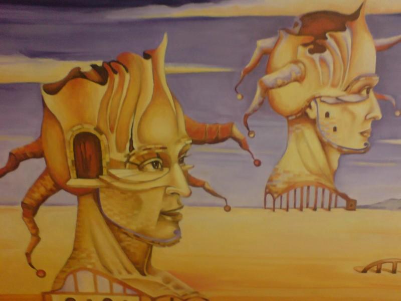 Expozitie de pictură Aida Şuşter şi Societatea culturală Expo Art