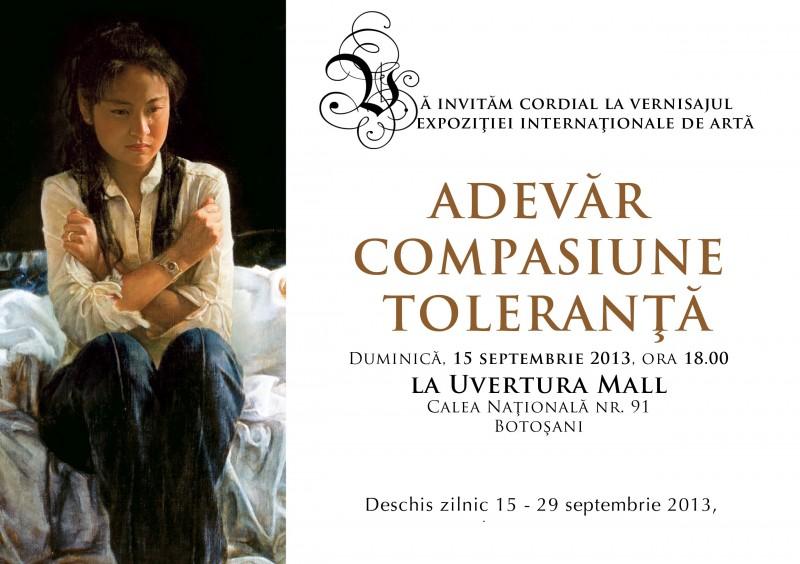 Expoziţie internațională de artă la Uvertura Mall