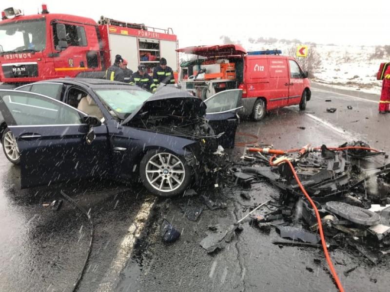 Familie îndoliată în urma unui accident rutier petrecut în judeţul Cluj- FOTO