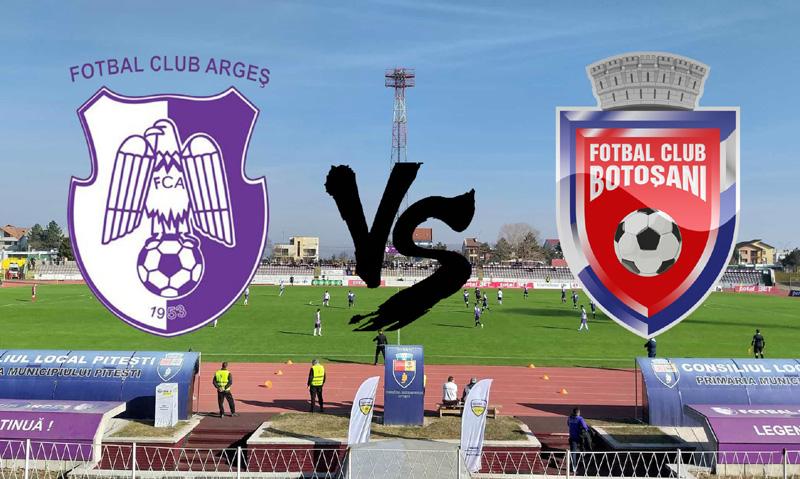FC Argeș - FC Botoșani 4-2, după loviturile de departajare! Final de drum pentru trupa lui Marius Croitoru